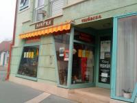Az üzlet bejárata